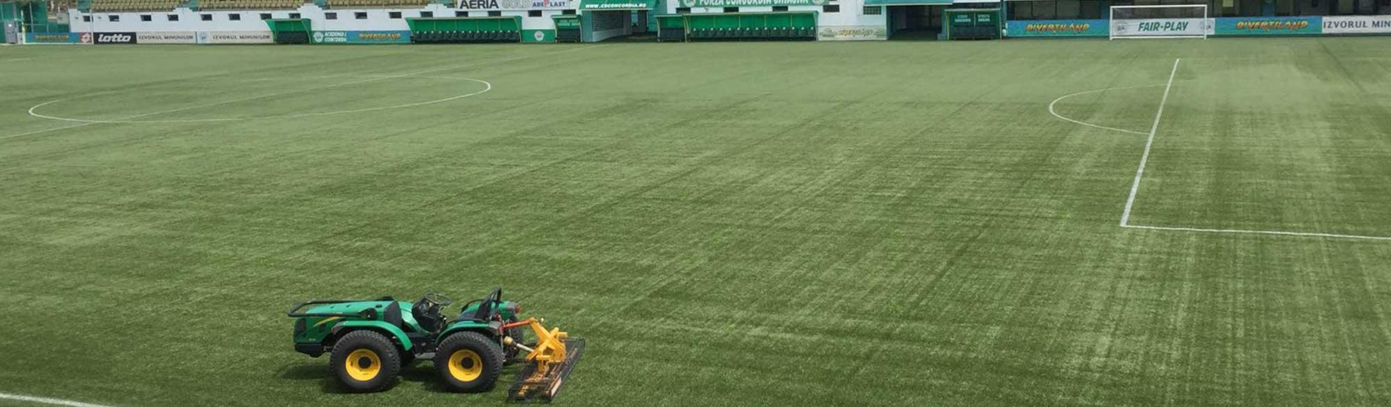Slide gazon artificial teren fotbal