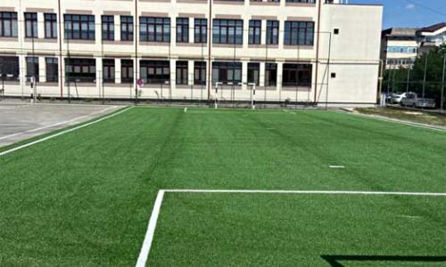 Teren sintetic de sport scoala Bascov Arges